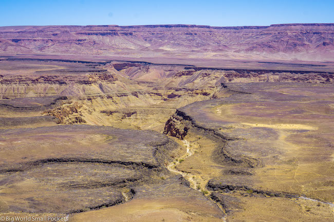 Namibia, Fish River Canyon, View