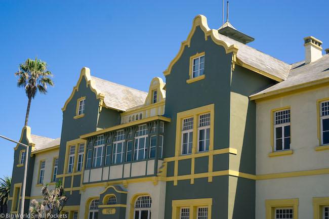 Namibia, Swakopmund, Architecture