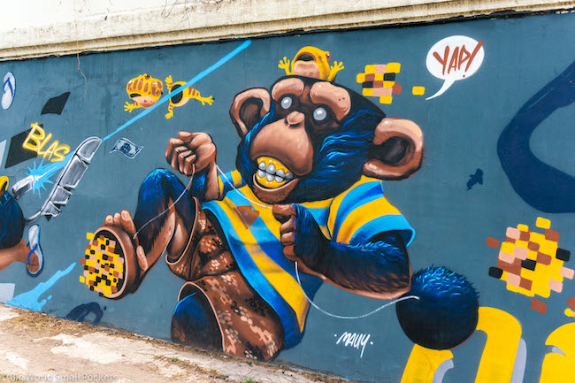 Thailand, Chiang Mai, Street Art
