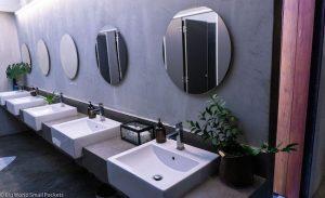 Thailand, Chiang Mai, Thunder Bird Hostel Bathroom