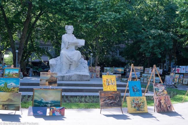 Armenia, Yerevan, Art Park