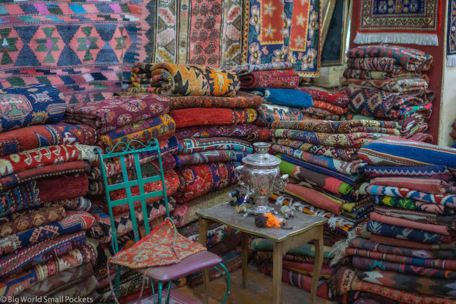 Armenia, Yerevan, Carpet Shop