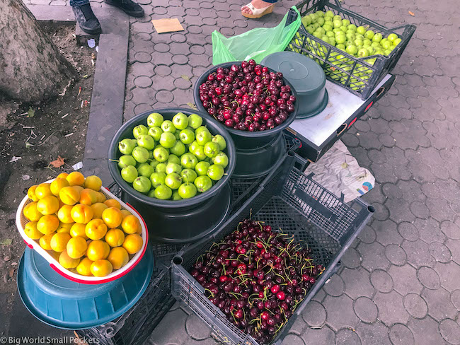 Armenia, Yerevan, Fruit Stalls