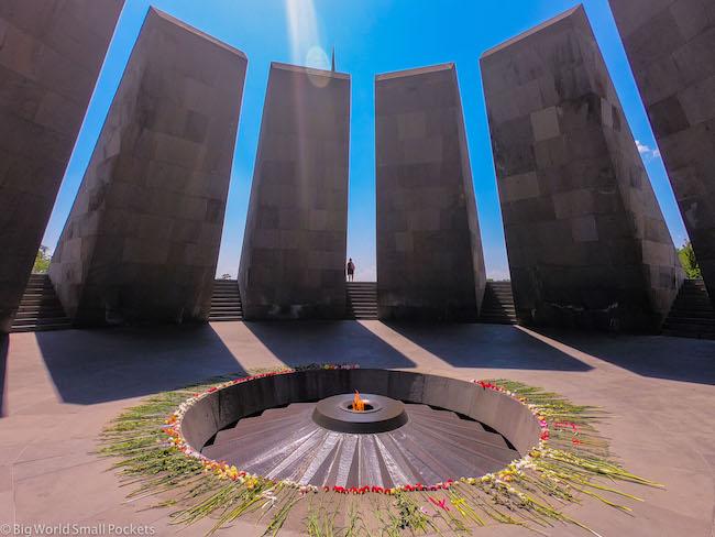 Armenia, Yerevan, Genocide Memorial