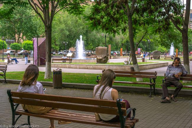 Armenia, Yerevan, Park