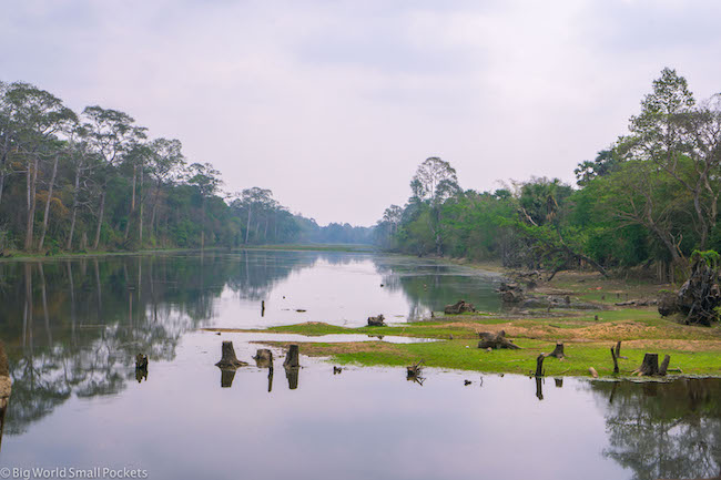 Cambodia, Angkor, Landscape