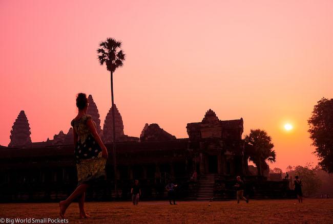 Cambodia, Angkor Wat Sunrise 18
