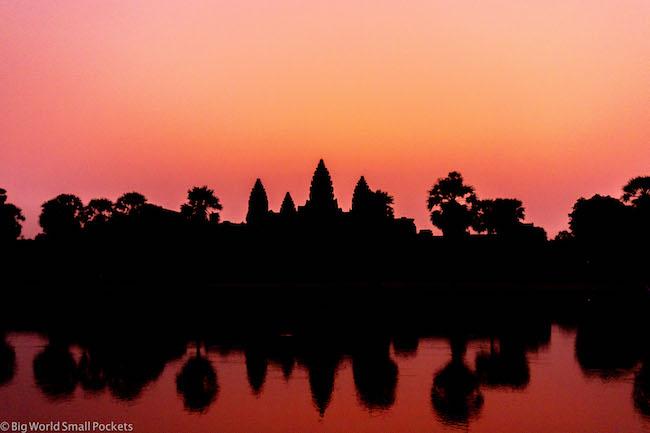 Cambodia, Angkor Wat Sunrise 7