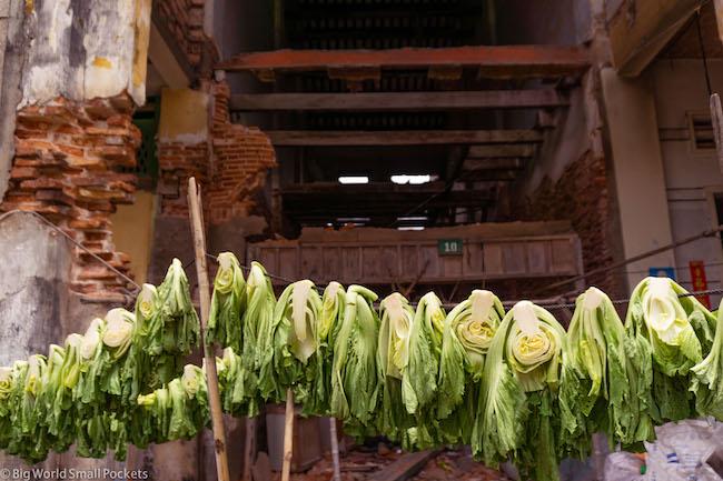 Cambodia, Kampot, Cabbage