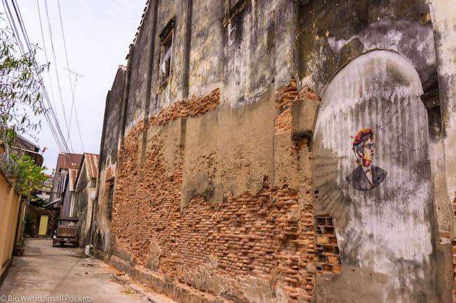 Cambodia, Kampot, Street Art