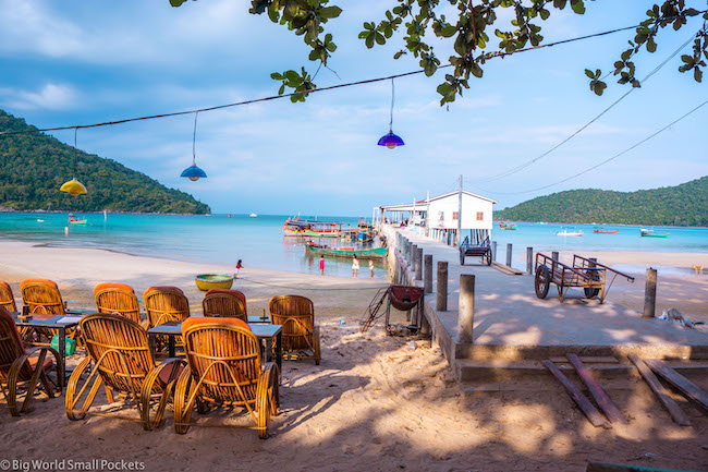 Cambodia, Koh Rong, Cafe