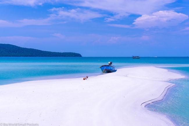 Cambodia, Koh Rong Sanloem, Sandbar