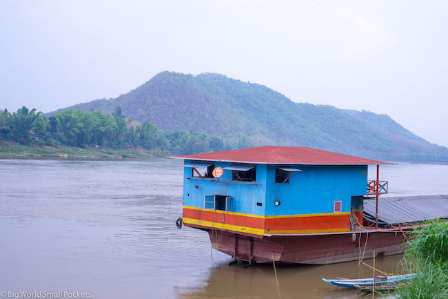 Chiang Rai to Luang Prabang, Mekong River, Boat