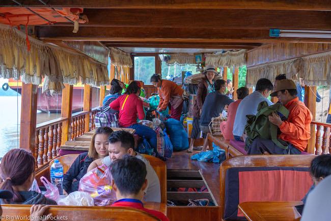 Chiang Rai to Luang Prabang, Mekong River, Passengers