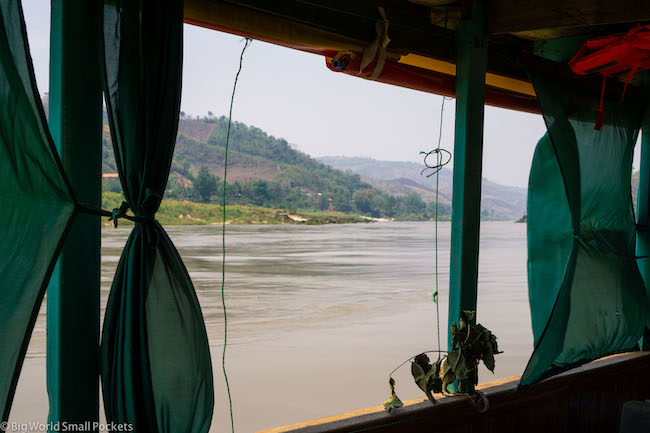 Chiang Rai to Luang Prabang, Mekong River, Views