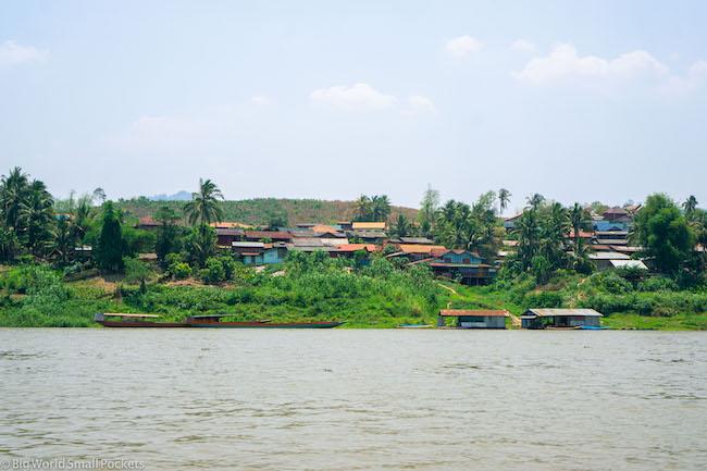 Chiang Rai to Luang Prabang, Mekong River, Village