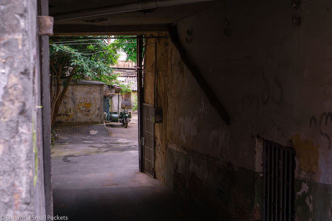 Georgia, Tbilisi, Alley