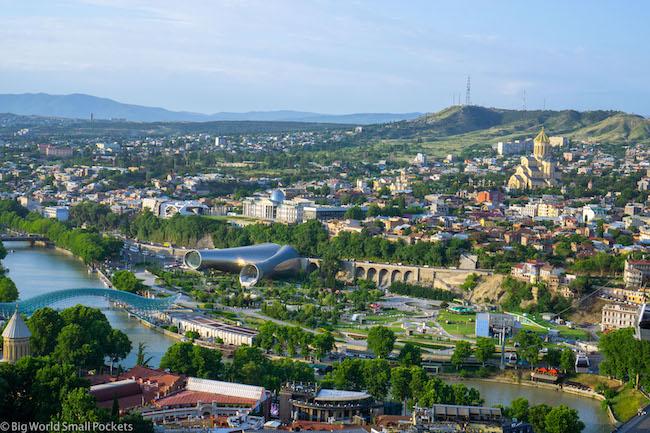 Georgia, Tbilisi, Botanic Garden View