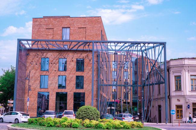Georgia, Tbilisi, Building