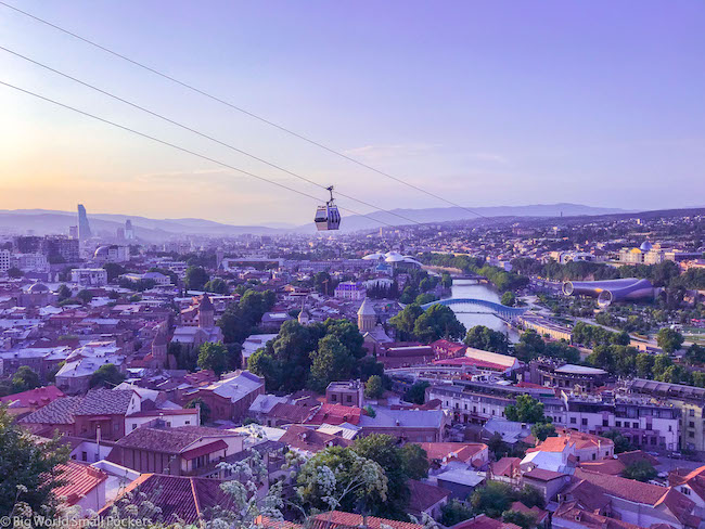 Georgia, Tbilisi, Cable Car