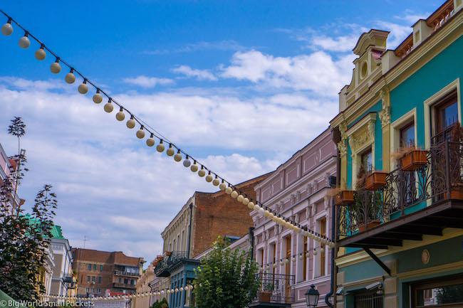 Georgia, Tbilisi, Davit Aghmashenebeli Avenue