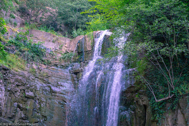 Georgia, Tbilisi, Leghvtakhevi Waterfall