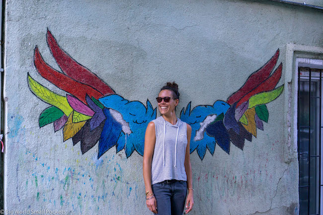Georgia, Tbilisi, Me with Wings