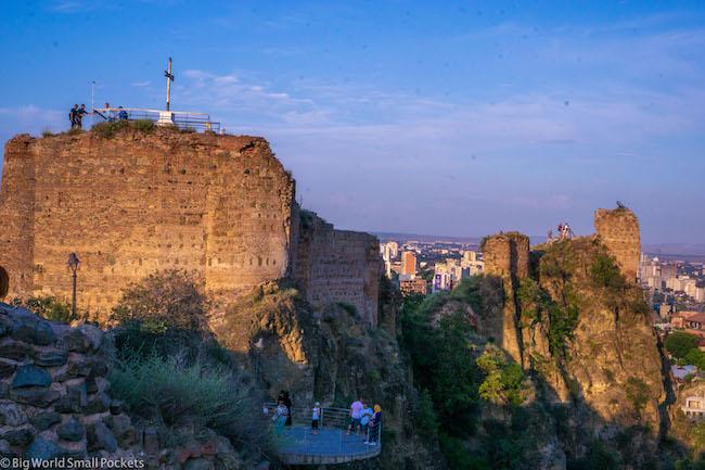 Georgia, Tbilisi, Narikala Fortress