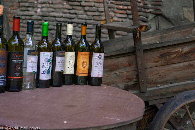 Georgia, Tbilisi, Wine