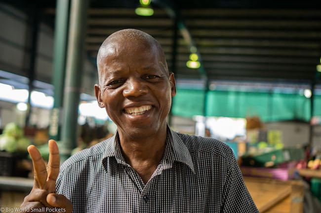 Mozambique, Maputo, Man