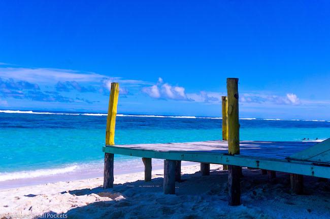 Samoa, Lalomanu Beach, Jetty