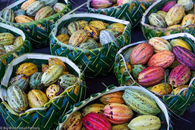 Samoa, Market, Cocoa