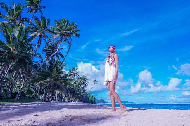Samoa, Upulo Beach, Me