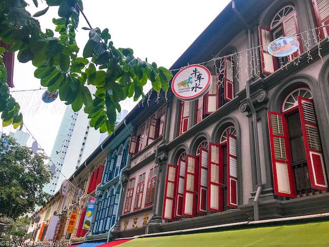 Singapore, Chna Town, Street