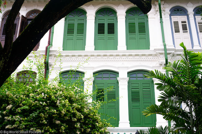 Singapore, Emerald Hill, House
