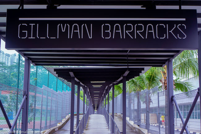 Singapore, Gillman Barracks, Entrance