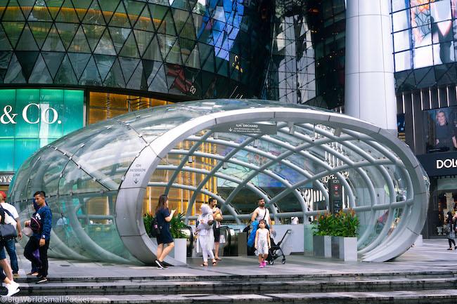 Singapore, MRT, Entrance