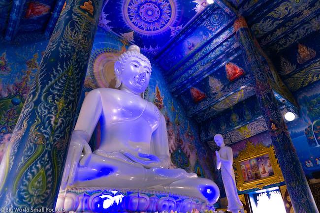 Thailand, Chiang Rai, Buddha Statue