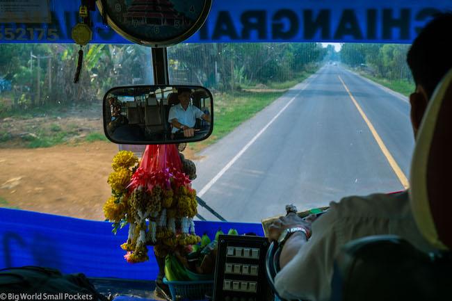 Thailand, Chiang Rai, Bus