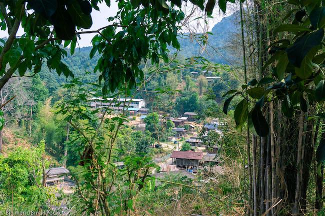 Thailand, Chiang Rai, Landscape
