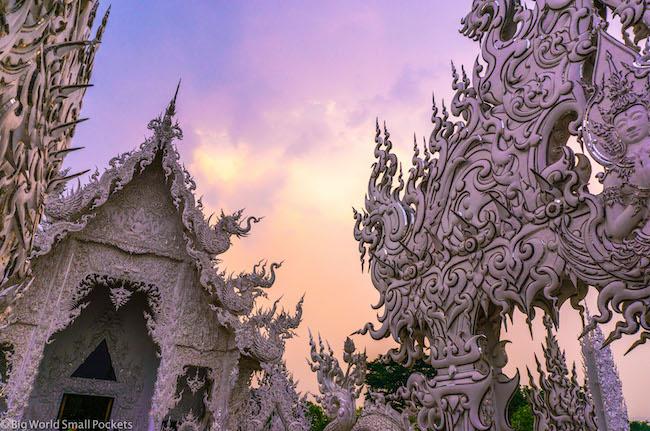 Thailand, Chiang Rai, White Temple
