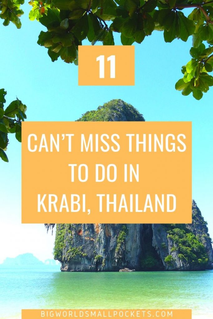 11 Can't Miss Things to do in Krabi, Thailand {Big World Small Pockets}