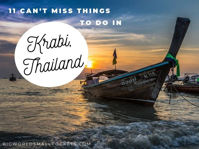 11 Can't Miss Things to do in Krabi, Thailand
