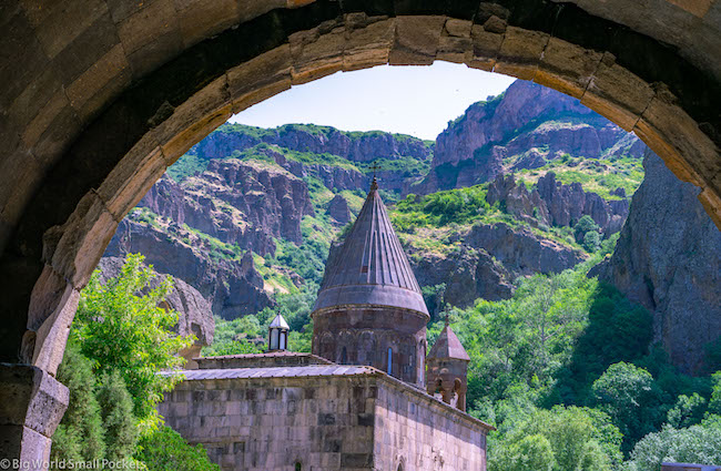 Armenia, Geghard, Monastery