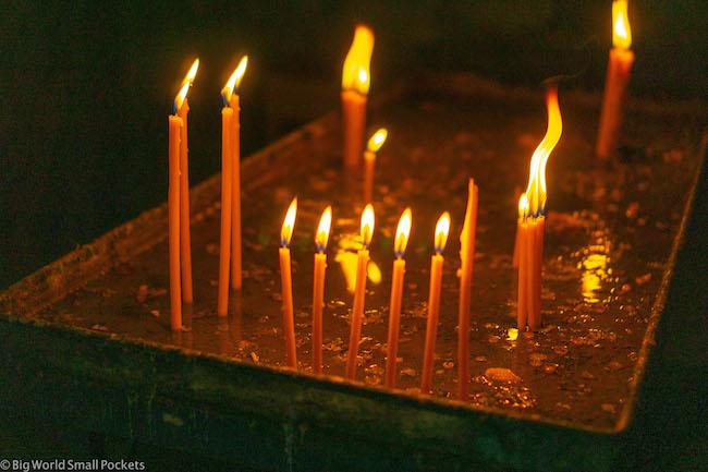 Armenia, Monastery, Candles