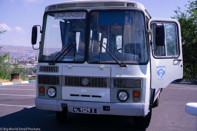 Armenia, Yerevan, Bus