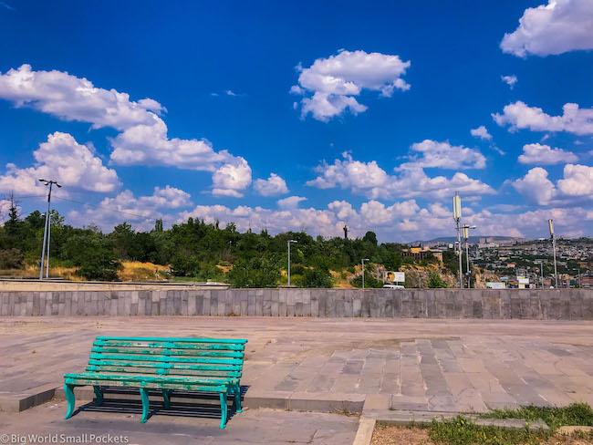 Armenia, Yerevan, Green Bench