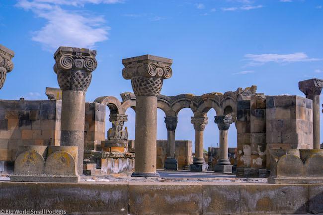 Armenia, Yerevan, Zvartnots