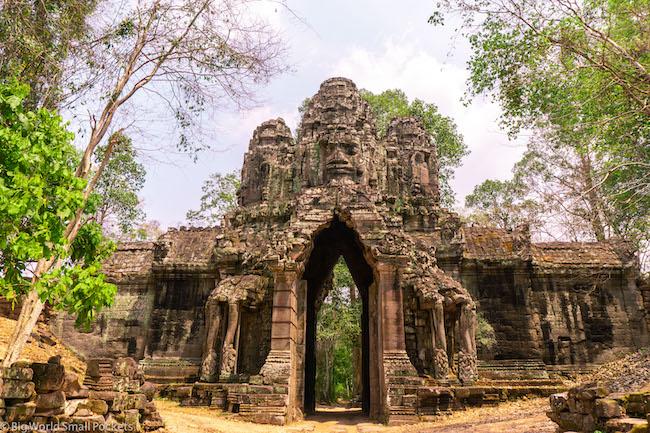 Cambodia, Angkor, Temple Gates