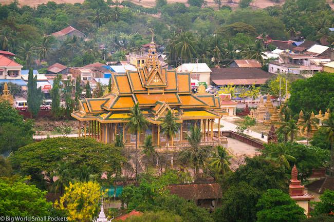 Cambodia, Battambang, Temple